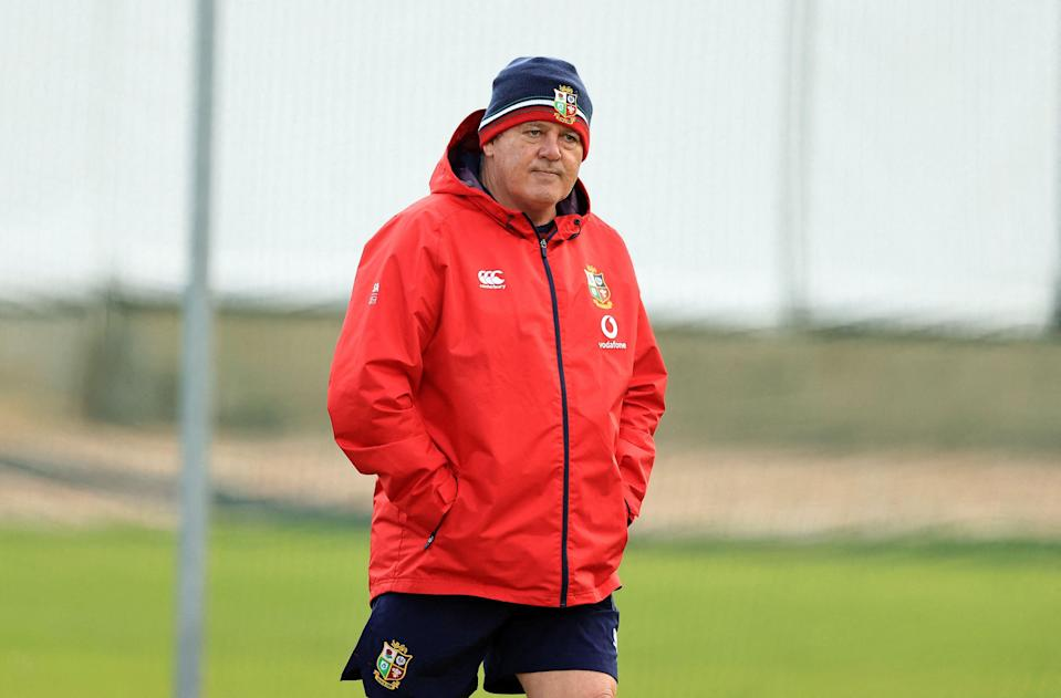 Warren Gatland said that this was the 'hardest' selection decision he's had to make (POOL/AFP via Getty Images)