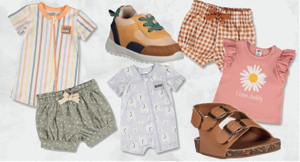 So many cute baby clothes are on sale this week at Best&Less.