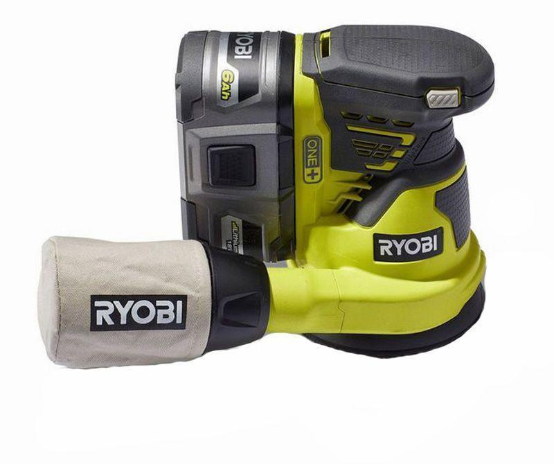 """<p><strong>Ryobi</strong></p><p>homedepot.com</p><p><strong>$44.97</strong></p><p><a href=""""https://go.redirectingat.com?id=74968X1596630&url=https%3A%2F%2Fwww.homedepot.com%2Fp%2FRYOBI-18-Volt-ONE-Cordless-5-in-Random-Orbit-Sander-Tool-Only-P411%2F205975756&sref=https%3A%2F%2Fwww.popularmechanics.com%2Fhome%2Ftools%2Fg26626730%2Fpower-sanders%2F"""" rel=""""nofollow noopener"""" target=""""_blank"""" data-ylk=""""slk:Buy Now"""" class=""""link rapid-noclick-resp"""">Buy Now</a></p><p><strong>Weight</strong><strong>:</strong> 4.2 lb. <br><strong>Battery</strong><strong>:</strong> 4.0 Ah, 18 V</p><p>This little tool hits the sweet spot for Ryobi. It's not as aggressive as the other sanders, but it does sand well and with a high degree of control. Its dust pickup was surprisingly good for such an inexpensive and simple power tool. And this is more of an observation than a complaint, but the on/off button is somewhat stiff. In all, we rate this little tool as a good fit for the frugal power tool shopper.</p>"""