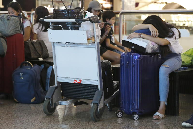 Indians tourists stranded at Bali airport