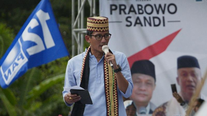 Indonesia election: Concerns over Prabowo Subianto's human rights record a 'five-yearly issue', says Sandiaga Uno