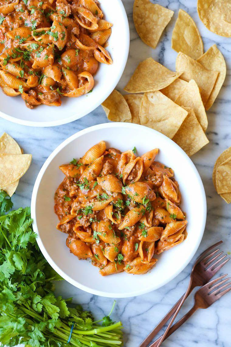 """<p>Just looking at this dish is enough to make anyone's mouth water. Luckily for you, you can make it from start to finish in just 40 minutes.</p><p><strong>Get the recipe at <a href=""""https://damndelicious.net/2019/08/17/instant-pot-cheesy-taco-shells/"""" rel=""""nofollow noopener"""" target=""""_blank"""" data-ylk=""""slk:Damn Delicious"""" class=""""link rapid-noclick-resp"""">Damn Delicious</a>.</strong></p><p><strong><strong><strong><strong><a class=""""link rapid-noclick-resp"""" href=""""https://www.amazon.com/Instant-Pot-Multi-Use-Programmable-Pressure/dp/B00FLYWNYQ/?tag=syn-yahoo-20&ascsubtag=%5Bartid%7C10063.g.36311962%5Bsrc%7Cyahoo-us"""" rel=""""nofollow noopener"""" target=""""_blank"""" data-ylk=""""slk:SHOP INSTANT POTS"""">SHOP INSTANT POTS</a></strong></strong></strong><br></strong></p>"""