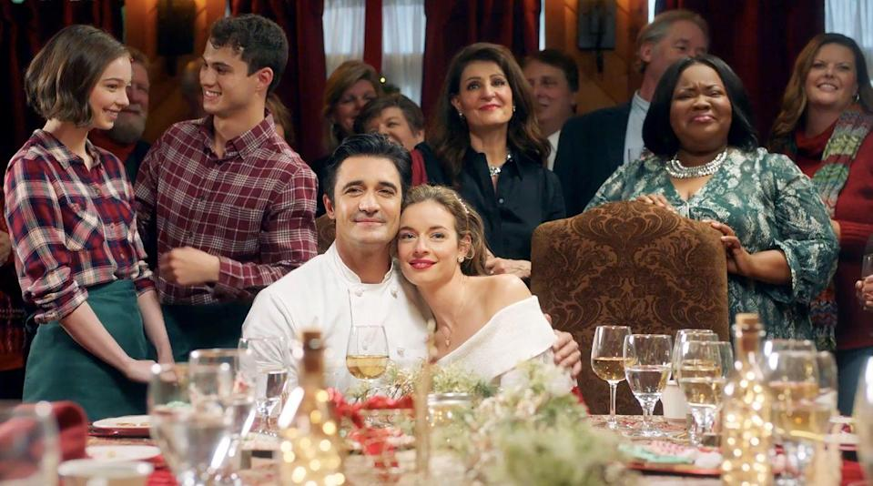 <p>When her cousin Francesca has to cancel the big opening of her Italian restaurant on Christmas Eve, Natalie (Anni Krueger) makes it her mission to make the event happen. But she's up against Chef Stefano (Gilles Marini), who believes the Christmas Eve deadline is impossible. Despite their differences, they have to come together to try to make some Christmas magic happen—and maybe cook up a little<em> love</em>, too. How was that? Could I write cheesy Lifetime movie blurbs for a living?</p>