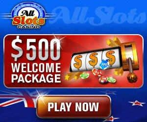 All Slots Casino Greets Players Generously With a $500 Welcome Package