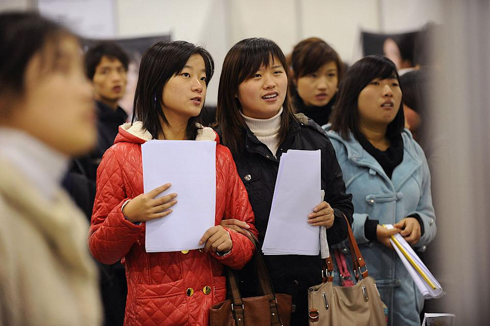Chinese students are being warned to reconsider the need to travel to Australia. Source: Getty