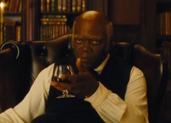 Jackson in 'Django Unchained'