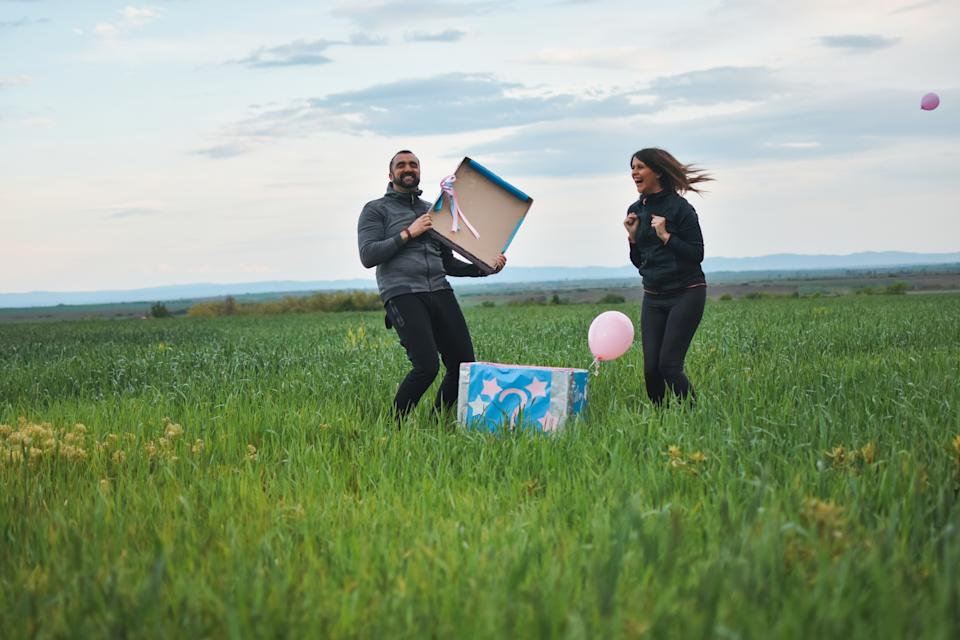 Gender reveals have become hugely popular in recent years. (Getty Images)