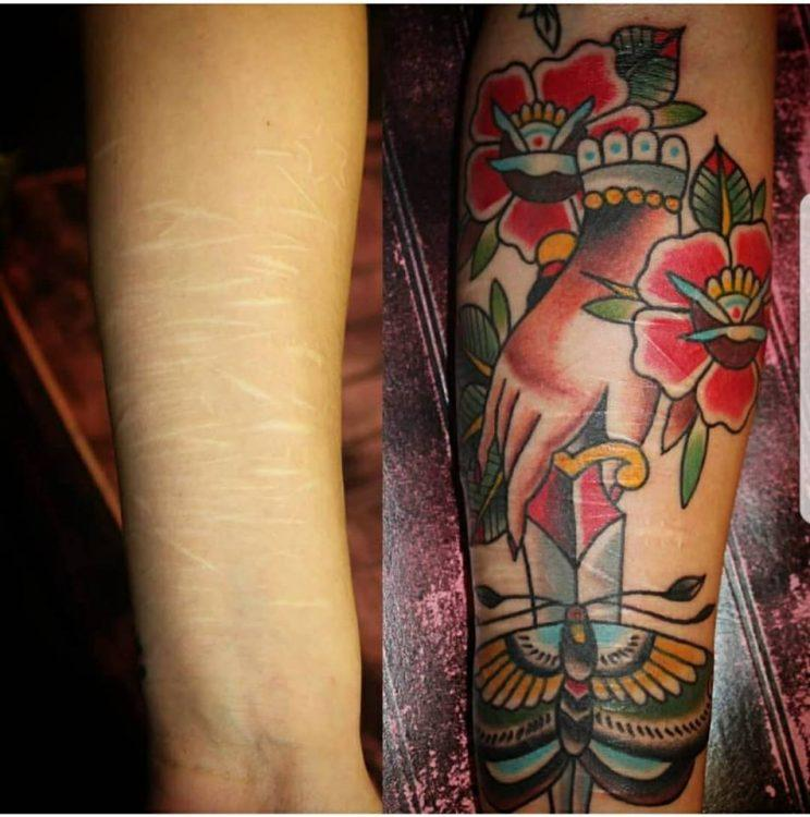 2302d0faf 50 Tattoos People Look at When They're Struggling With Suicidal Thoughts