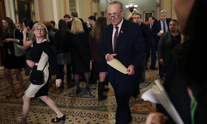 Senate minority leader Charles Schumer says Gorsuch's nomination is 'doomed to fail'.