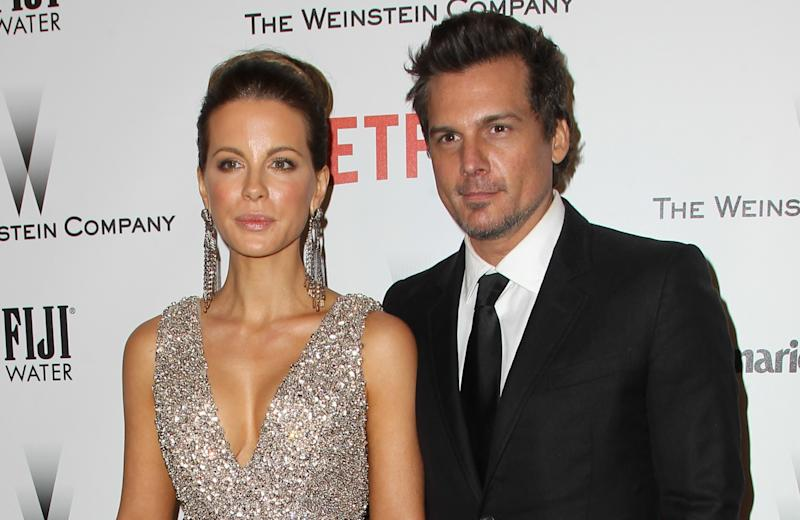 Director Len Wiseman with Kate Beckinsale in 2015, prior to the couple's divorce (Credit: FayesVision/WENN.com)