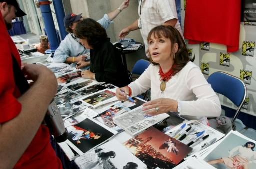 Actress Margot Kidder, shown here at Comic Con in 2005, has died at 69