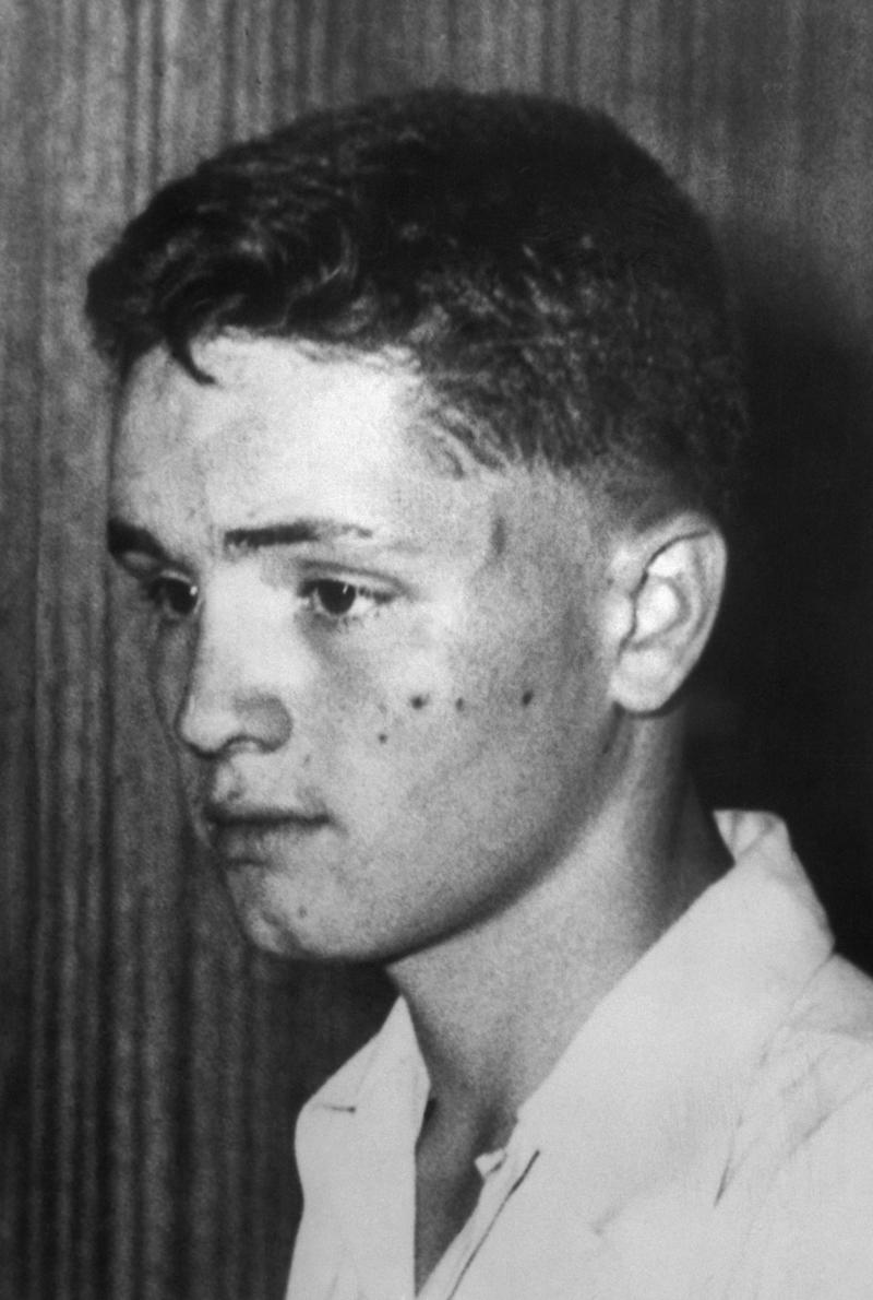 """Manson was born in Cincinnati, Ohio, in 1934. His mother, Kathleen Maddox, was just 16 years old. Hospital staff initially referred to him as """"no name Maddox""""until his mother <a href=""""https://books.google.com/books?id=pl3KHfExjN4C&pg=PA28&dq=%22manson+in+his+own+words%22+%22no+name+maddox%22&sig=MKQhXIUKOORIOg-YY7quqxNBdAY#v=onepage&q=%22manson%20in%20his%20own%20words%22%20%22no%20name%20maddox%22&f=false"""" target=""""_blank"""">gave him the name</a> Charles Milles Maddox. When she married, her son's last name was changed to Manson.<br /><br />Manson was in and out of the juvenile justice system throughout his childhood. He'd committed numerous crimes, including burglaries, armed robberies and auto thefts. By age 18, he'd landed in a federal reformatory in Petersburg, Virginia.<br /><br />Manson continued to commit crimes after his release from the reformatory and by age 32, he'd spent more than half his life incarcerated."""