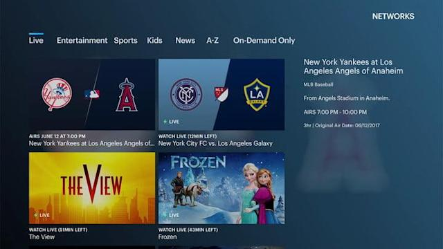 Best live TV streaming services: PlayStation Vue, Hulu