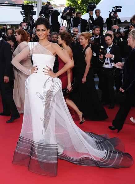 Sonam Kapoor at the 64th Annual Cannes International Film Festival
