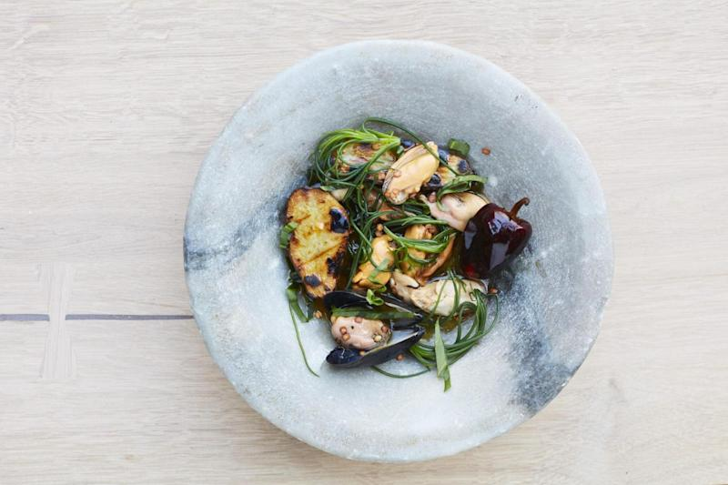 Mighty mussels: Ottolenghi's creation at ROVI (DAVID LOFTUS)