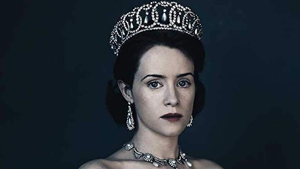 Claire Foy rewinds time with