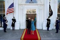 US President Joe Biden and First Lady Jill Biden are in the White House but getting the operation running is complex