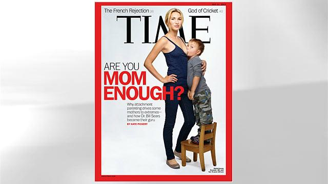 Breast-Feeding Time Cover Mom Responds to Critics