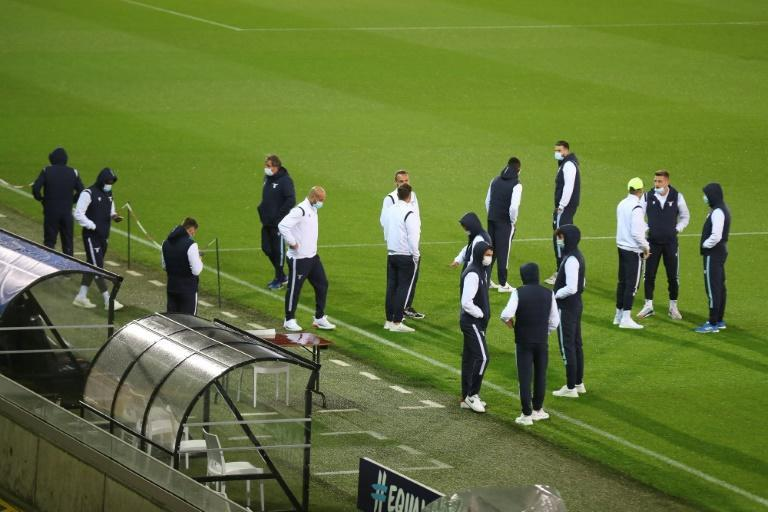 Lazio have arrived with a reduced squad for their Champions League match against Club Brugge