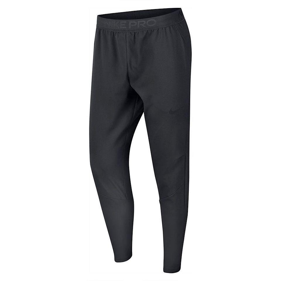 """<p><strong>NIKE</strong></p><p>nordstrom.com</p><p><a href=""""https://go.redirectingat.com?id=74968X1596630&url=https%3A%2F%2Fshop.nordstrom.com%2Fs%2Fnike-flex-2-0-plus-training-pants%2F5369164&sref=https%3A%2F%2Fwww.menshealth.com%2Fstyle%2Fg33510339%2Fnordstrom-anniversary-sale-2020%2F"""" rel=""""nofollow noopener"""" target=""""_blank"""" data-ylk=""""slk:BUY IT HERE"""" class=""""link rapid-noclick-resp"""">BUY IT HERE </a></p><p><strong><del>$75 </del>$56.25 (25% off)</strong></p><p>Go ahead, complete your sweatsuit with this training pant. The breezy silhouette and stretchy waist make them perfect for hanging at home and working up a sweat during an outdoor workout. </p>"""