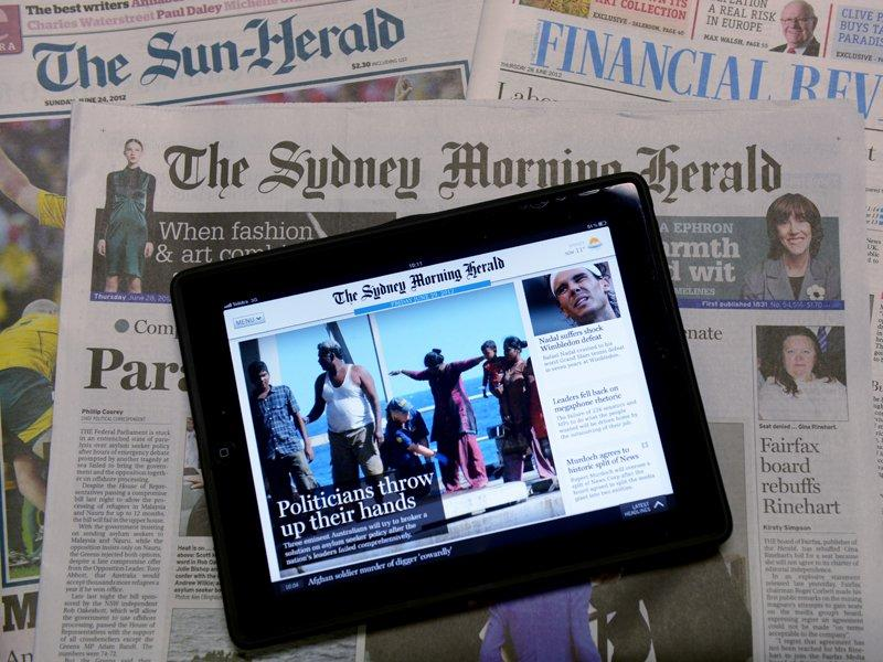 Fairfax paywalls 'by mid-year'