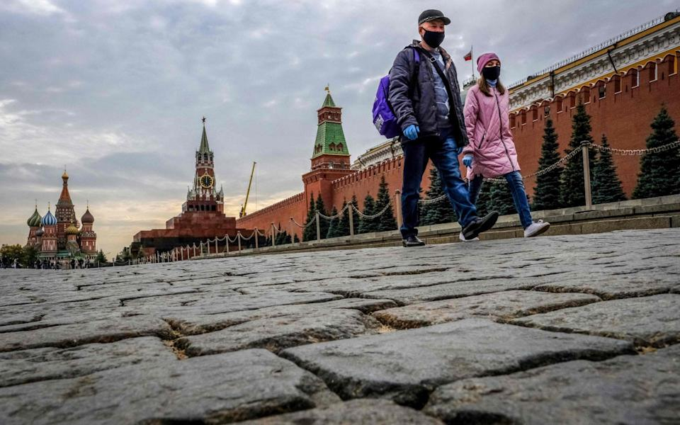 Moscow accounts for about 30 per cent of the caseload in Russia - AFP