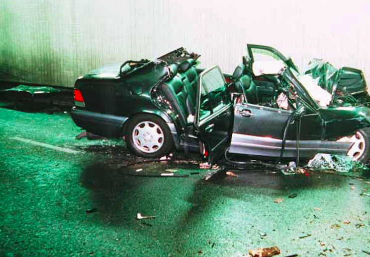 Princess Diana was killed in a tragic car accident in Paris (Rex)