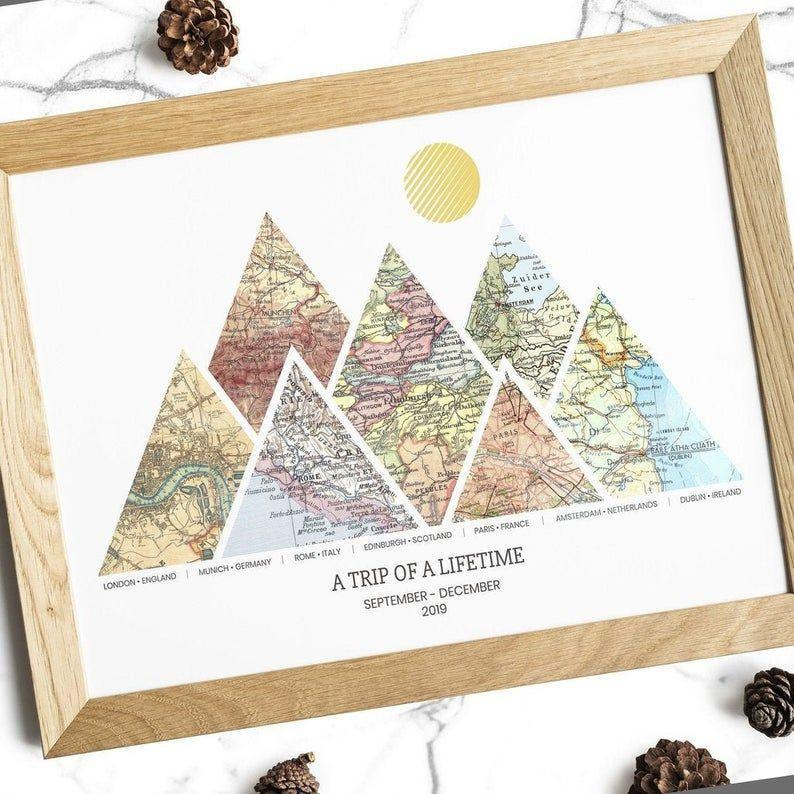 """<p><strong>CustomFamilyGifts</strong></p><p>etsy.com</p><p><strong>$81.00</strong></p><p><a href=""""https://go.redirectingat.com?id=74968X1596630&url=https%3A%2F%2Fwww.etsy.com%2Flisting%2F834977399%2Fpersonalized-adventure-map-print-3-8&sref=https%3A%2F%2Fwww.goodhousekeeping.com%2Fholidays%2Fgift-ideas%2Fg23743369%2Fgifts-for-couples%2F"""" rel=""""nofollow noopener"""" target=""""_blank"""" data-ylk=""""slk:Shop Now"""" class=""""link rapid-noclick-resp"""">Shop Now</a></p><p>Their love story goes beyond city limits, state lines, and continents. Give them a framed or canvas art piece to show off anywhere from three to eight places that have made their relationship what it is. </p>"""