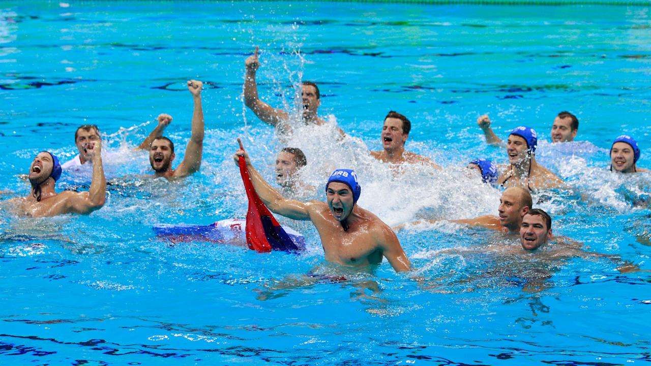 After their recent dominance of men's water polo, Serbia added an Olympic gold with a victory over Croatia at the Rio Games.