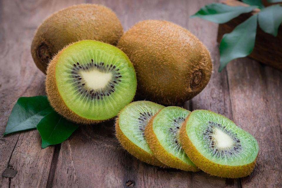 <p>This fuzzy little fruit is rich in vitamin C and relatively low in sugar— slice it up for a welcome tang on your cottage cheese or yogurt.</p><p><em>1 serving = 1.5 kiwis</em></p>