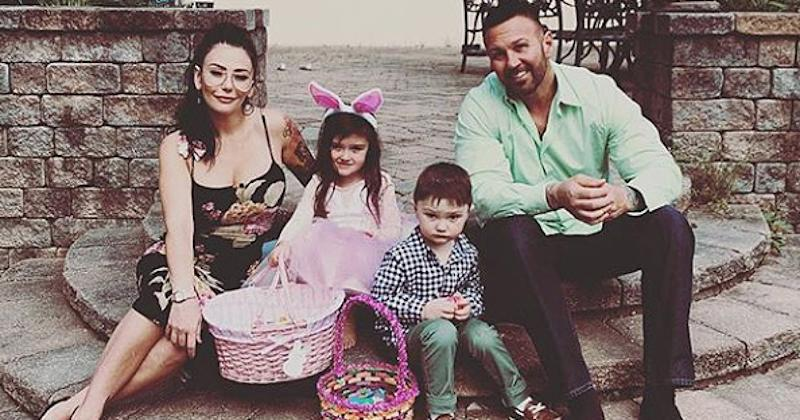 Jenni 'JWoww' Farley Reunites with Estranged Husband for Easter as She Moves on with New Man