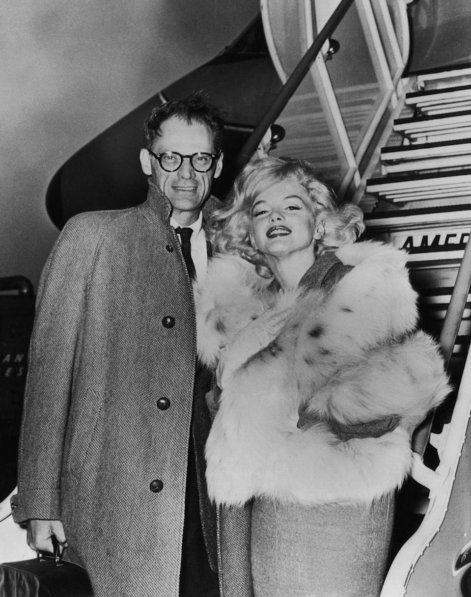 <p>The newlyweds traveled together to London, where Marilyn was slated to start her latest film. </p>