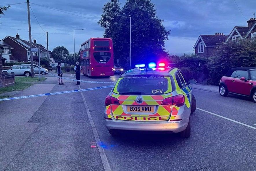 The attack took place in Rainham Road on Monday at 7pm (MPS Specials)