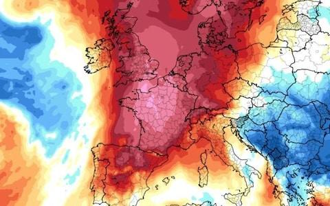 The UK could experience temperatures as high as 37C on Thursday. - Credit: Alistair Grant/Alistair Grant