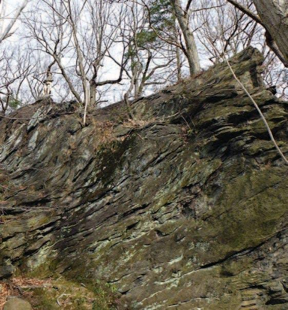 """<div class=""""inline-image__caption""""><p><em>The rock ledge where Ma Rinker would sit knitting and dropping messages to a band of patriot guerrilla fighters.</em></p></div> <div class=""""inline-image__credit"""">Henry R. Schlesinger </div>"""