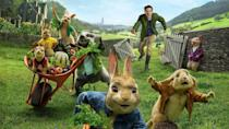 <p> You have to wonder what Beatrix Potter would have made of this 21st century update of her enduring rodent hero &#x2013; he certainly didn&#x2019;t wear denim in the original books. The movie sees Peter and his critter chums taking on the great-nephew of original bunny-scourge Mr McGregor, with Domhnall Gleeson successfully transferring his General Hux sneer to kid-friendly pest control. James Corden is slightly miscast as the too-cool-for-school Peter &#x2013; and the movie courted controversy for its ridiculously cavalier attitude to allergies &#x2013; but little &#x2019;uns will still love it. </p> <p> <strong>Age range:</strong>&#xA0;4 &#x2013; 8 </p>