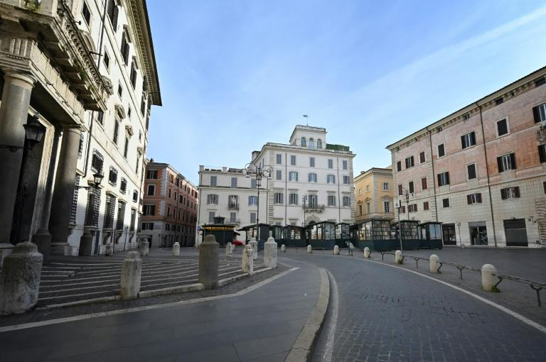 Since Monday a series of decrees from the Italian government have drastically limited citizens' movements, leaving streets empty