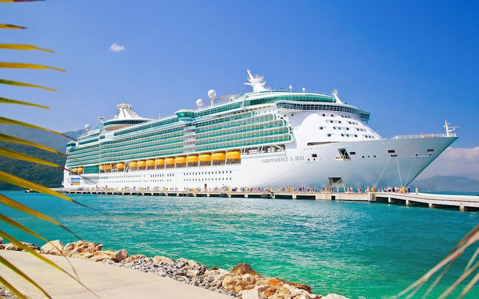 US health authorities require cruise lines to conduct mock sailings in order to show they're safe