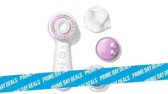 Photo Illustration by Elizabeth Brockway/The Daily Beast * Save at least 30% on Clarisonic cleansing brushes. * Select from a variety of bristle strengths based on your skincare needs. * Shop the rest of our other Prime Day deal picks here. Not a Prime member yet? Sign up here.You can slather all the concealer you want on that zit, but at the end of the day, what's really going to treat acne at the source is a deep clean. Clarisonic's rotating bristles gently exfoliate the skin while unclogging pores, blending makeup, reducing inflammation, and more. Thanks to these awesome Prime Day deals, you don't even need to live on a Hollywood star's salary to get red carpet-ready skin.   Get it on Amazon > Let Scouted guide you to the best Prime Day deals. Shop Here >Scouted is internet shopping with a pulse. Follow us on Twitter and sign up for our newsletter for even more recommendations and exclusive content. Please note that if you buy something featured in one of our posts, The Daily Beast may collect a share of sales.Read more at The Daily Beast.Get our top stories in your inbox every day. Sign up now!Daily Beast Membership: Beast Inside goes deeper on the stories that matter to you. Learn more.