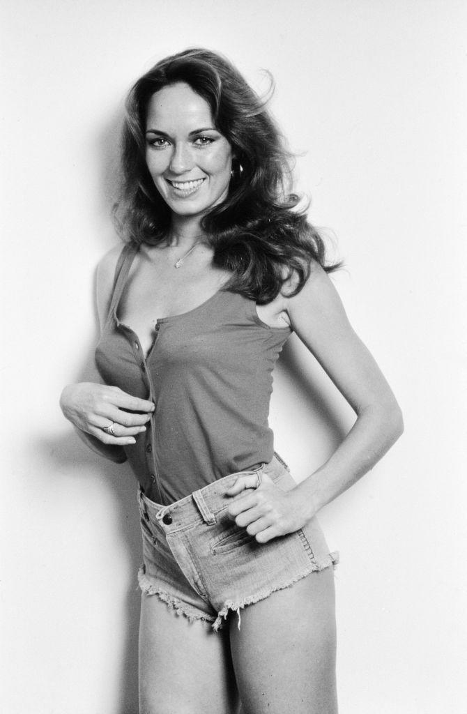 <p>Catherine Bach rose to fame playing Daisy Duke in the 1988 TV series<em> The</em> <em>Dukes of Hazzard. </em>Her acting was eclipsed by her jean shorts, which became known as Daisy Dukes. </p>