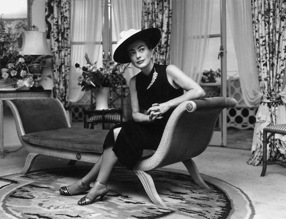 """<p>In 1956, Joan starred in <em>Autumn Leaves, </em>a film she has said is the """"best older woman/younger man movie ever made."""" </p>"""
