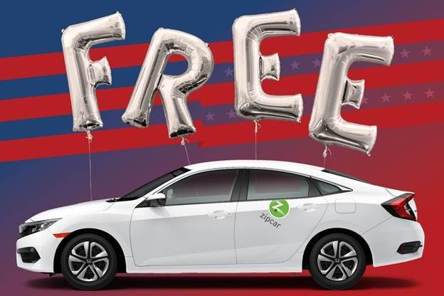 Zipcar Will Support Members Evening Voting On Election Day With
