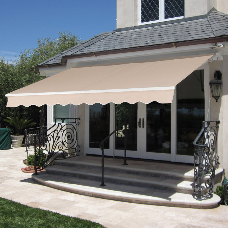 "Best Choice Products 98"" x 80"" Retractable Patio Awning. (Photo: Walmart)"