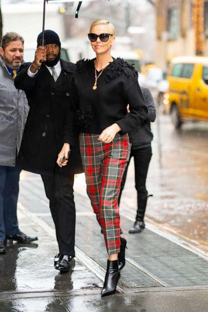 PHOTO: Charlize Theron is seen in the Upper West Side on Dec. 17, 2019 in New York City. (GC Images via Getty Images , FILE)