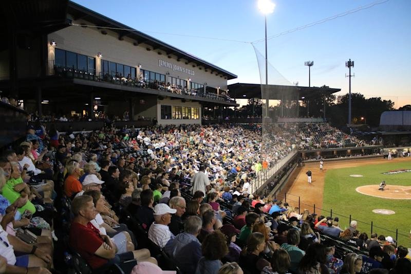 The USPBL field, located in suburban Detroit, holds 4,500. Of the 75 dates last year, 62 were sellouts.