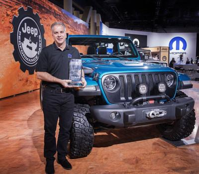 The Jeep® Wrangler has been named