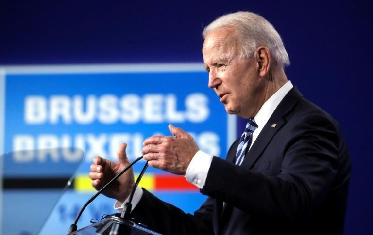 """Biden says the deal is """"a model we can build on for other challenges posed by China's economic model""""."""