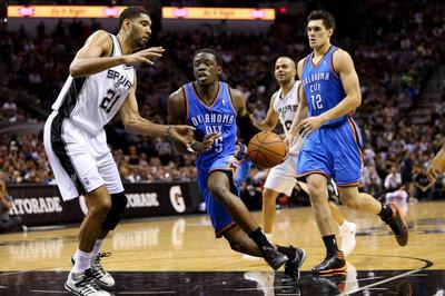 Reggie Jackson averaged 13.1 points and 4.1 assists last season. (AP)