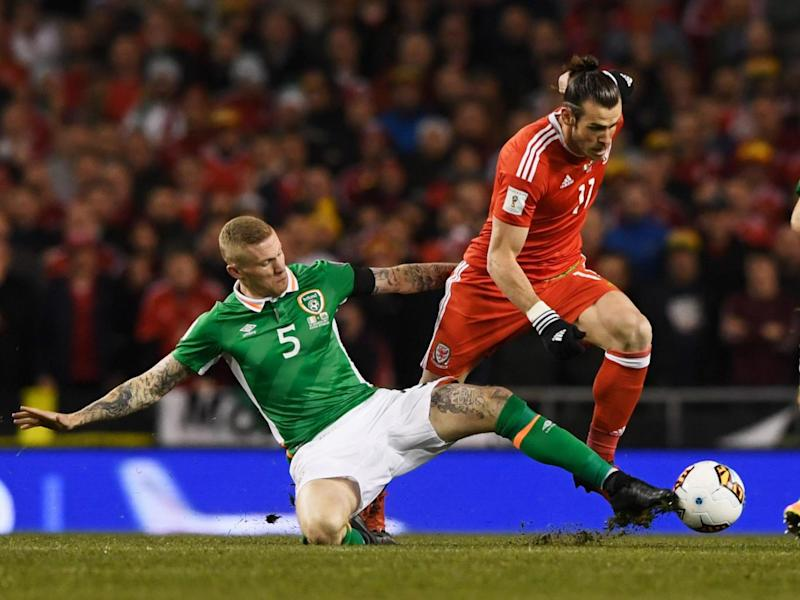 James McClean was fired up right from the start (Getty)