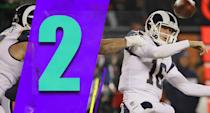 <p>The difference between the top three teams is slight. Even though it's clear they're the top three teams, everyone is beatable. We saw that with the Bears beatdown of the Rams on Sunday night. The playoffs might get really crazy this season. (Jared Goff) </p>